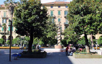 Restauro fontana delle voci - Piazza_Benedetto_Brin_La_Spezia